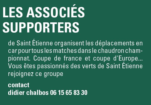 supporters st etienne
